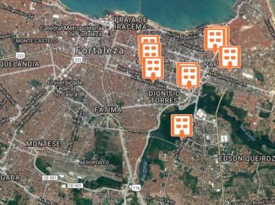 Prédios abandonados de Fortaleza