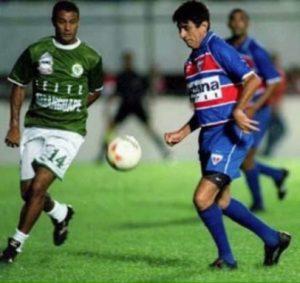 0525700042 O cantor Fagner jogando com a camisa do Fortaleza em amistosos oficiais do  clube.