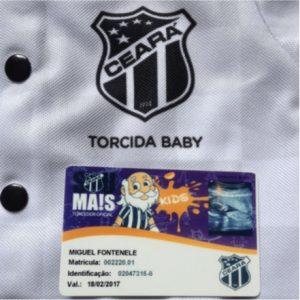 a681007c7a O sócio-torcedor do Ceará que ganhou carteirinha antes mesmo de nascer  o  Miguel Fontenele.