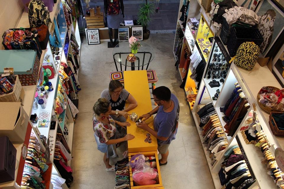 Foto - Elabore foi a primeira loja colaborativa de Fortaleza (FOTO: Rosana Romão/Tribuna do Ceará)