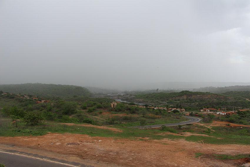 Chuvas de 2017 têm gerado expectativas de recarga. (Foto: Jéssica Welma/Tribuna do Ceará)