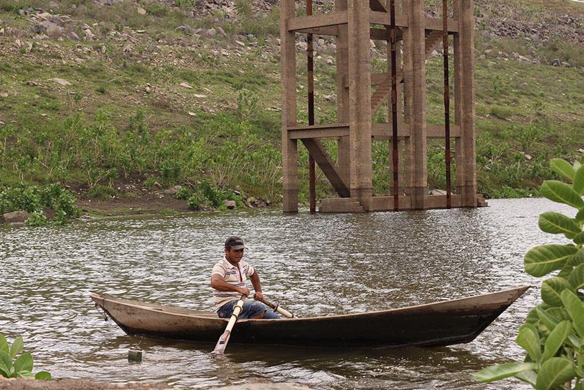 Pescador José Gabriel Rodrigues da Silva, de 41 anos (Foto: Jéssica Welma/Tribuna do Ceará)