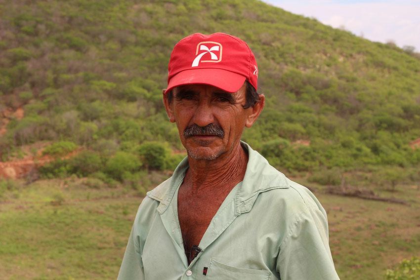 Agostinho Nobre, pecuarista. (Foto: Jéssica Welma/Tribuna do Ceará)