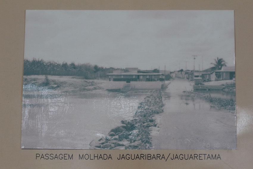 Memorial da Velha Jaguaribara no Dnocs. (Foto: Jéssica Welma/Tribuna do Ceará)