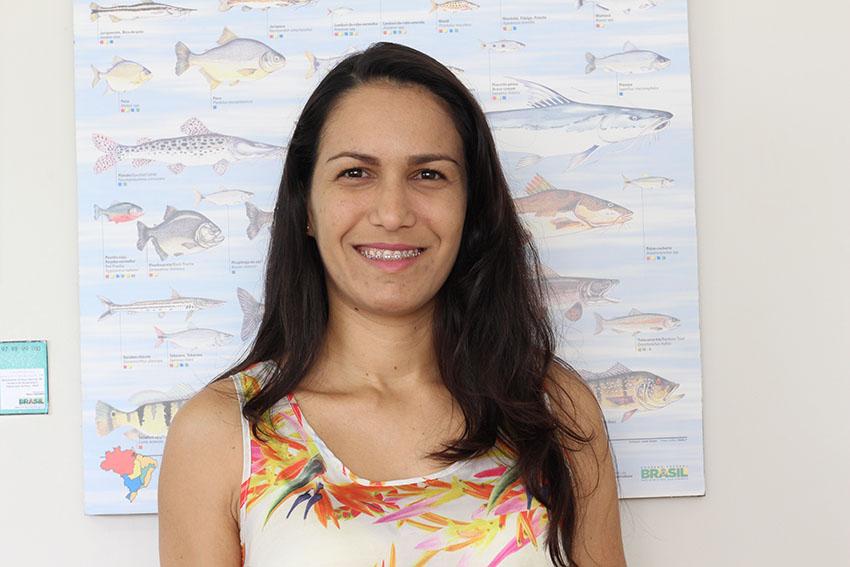 Lívia Barreto, secretária do Desenvolvimento Econômico de Jaguaribara. (Foto: Jéssica Welma/Tribuna do Ceará)