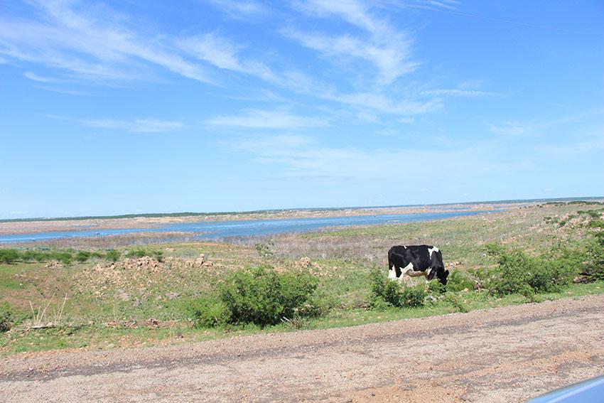 Açude Castanhão. (Foto: Jéssica Welma/Tribuna do Ceará)