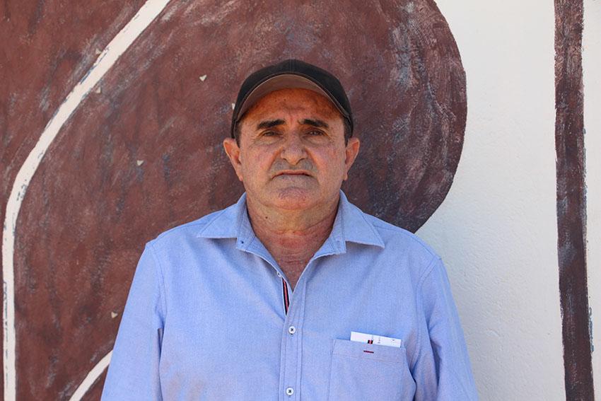 Getúlio Peixoto Maia, engenheiro civil do Dnocs. (Foto: Jéssica Welma/Tribuna do Ceará)