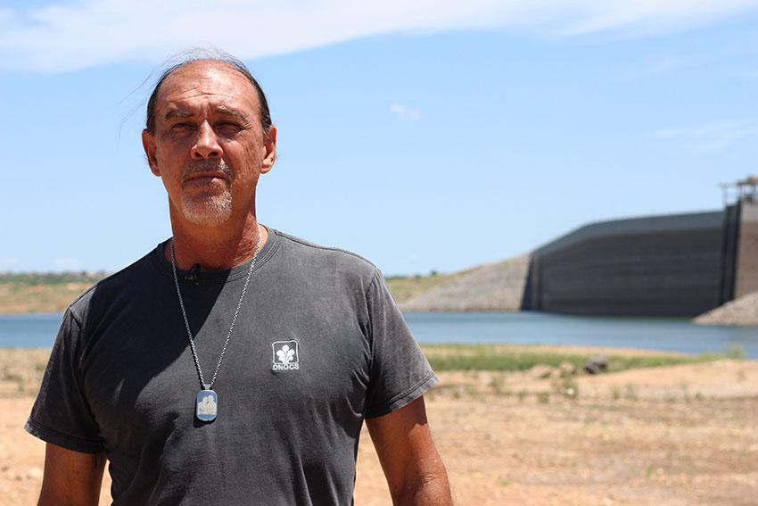 Fernando Pimentel, coordenador do açude Castanhão. (Foto: Jéssica Welma/Tribuna do Ceará)